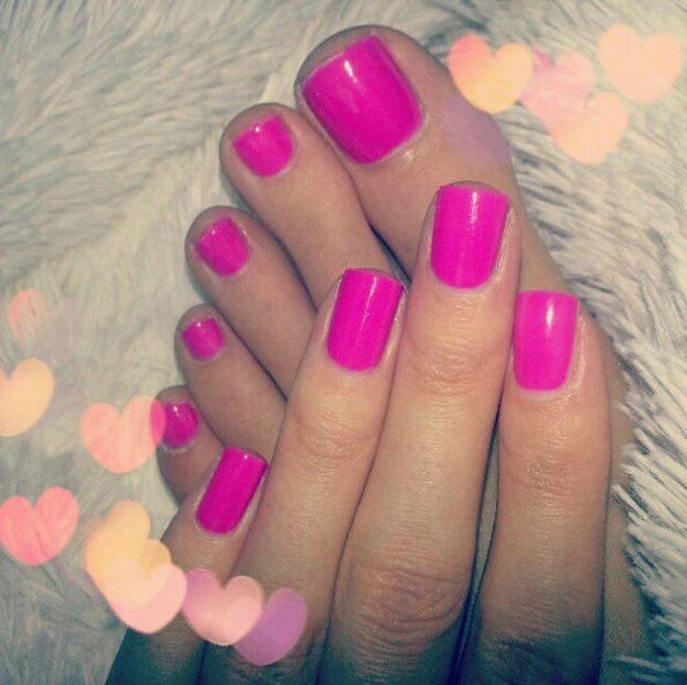 orly frolic nail polish fingers