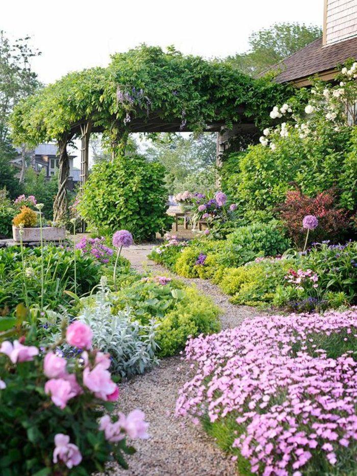 nos propositions en vid os pour faire une all e de jardin revetement sol exterieur sol. Black Bedroom Furniture Sets. Home Design Ideas