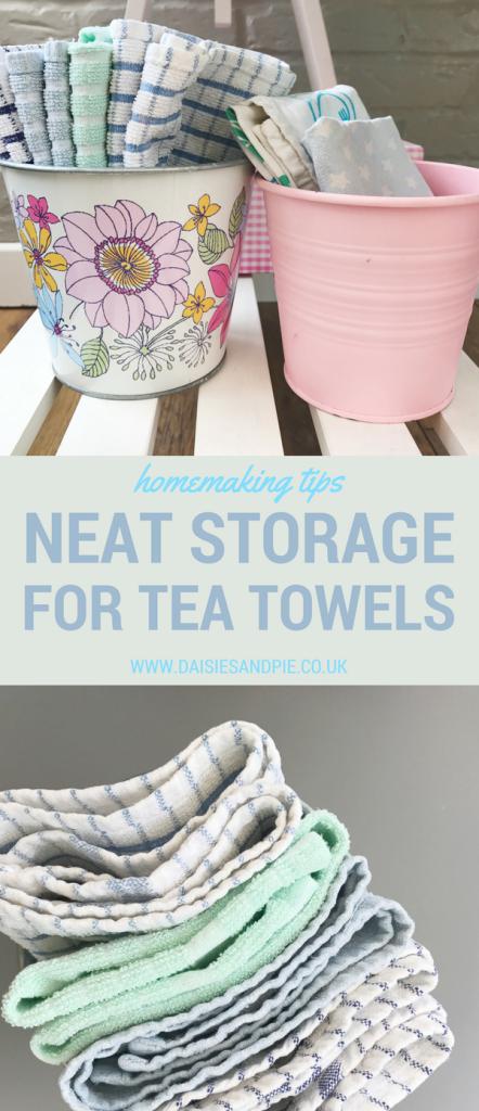 Neat Way To Store Tea Towels Tea Towels Towel Kitchen Organisation