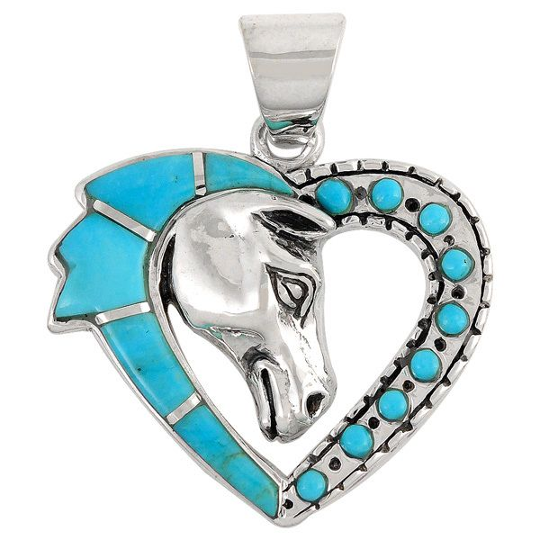 Horse Sterling Silver Pendant Sterling Silver Jewelry