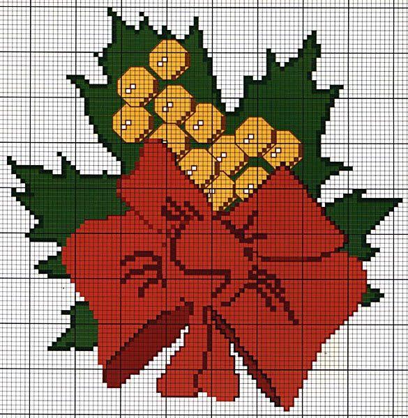 Plantillas de punto de cruz de motivos navideños - Página 41147