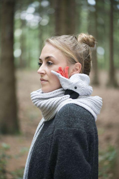 'Knituator sammelt #Ideen: #Schal #Papagei #Papageienschal Toll!