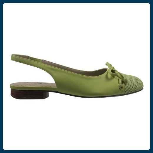 Ornela Brenti 33092-537 Damen Schuhe Premium Qualität Sandalette Grün (hellgrün) [EU 39.0] Ak1lqqJsM