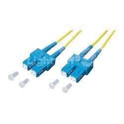 Glasfaser LWL Anschlusskabel [1x SC-Stecker - 1x SC-Stecker] 9/125µ Singlemode OS1 1 m Lightwin