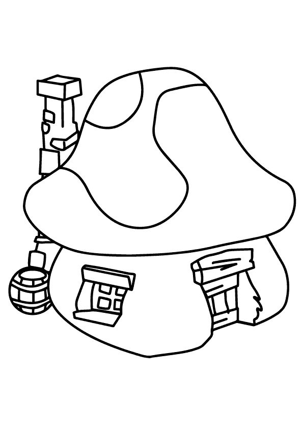 25 Funny Smurf Coloring Pages For Your Little Ones Color Plants Rhpinterest: Smurf House Coloring Pages At Baymontmadison.com