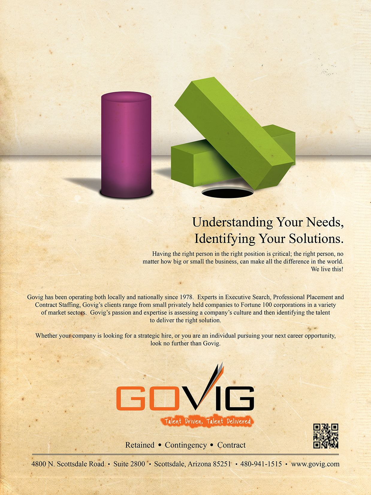 Govig ad for phoenix business journals book of lists