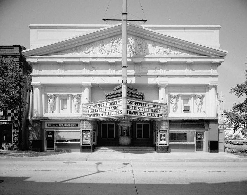 paramount theatre baton rouge louisiana east front elevation 1978 baton rouge baton rouge louisiana historic structures paramount theatre baton rouge louisiana