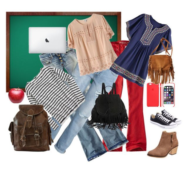 """""""Back to School: Denim Guide - Contest"""" by winscotthk ❤ liked on Polyvore"""