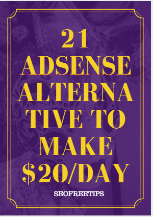 Top 21 Best Google Adsense Alternatives 2018 To Earn 20day From