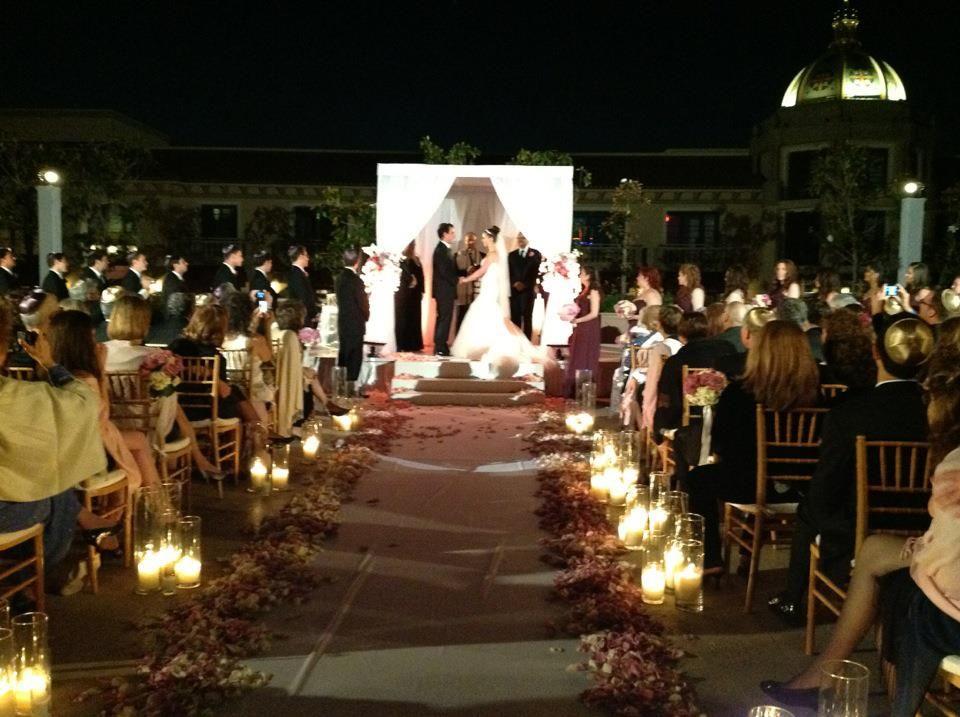 Gorgeous Wedding Ceremonies: Evening Wedding Ceremony - Beautiful