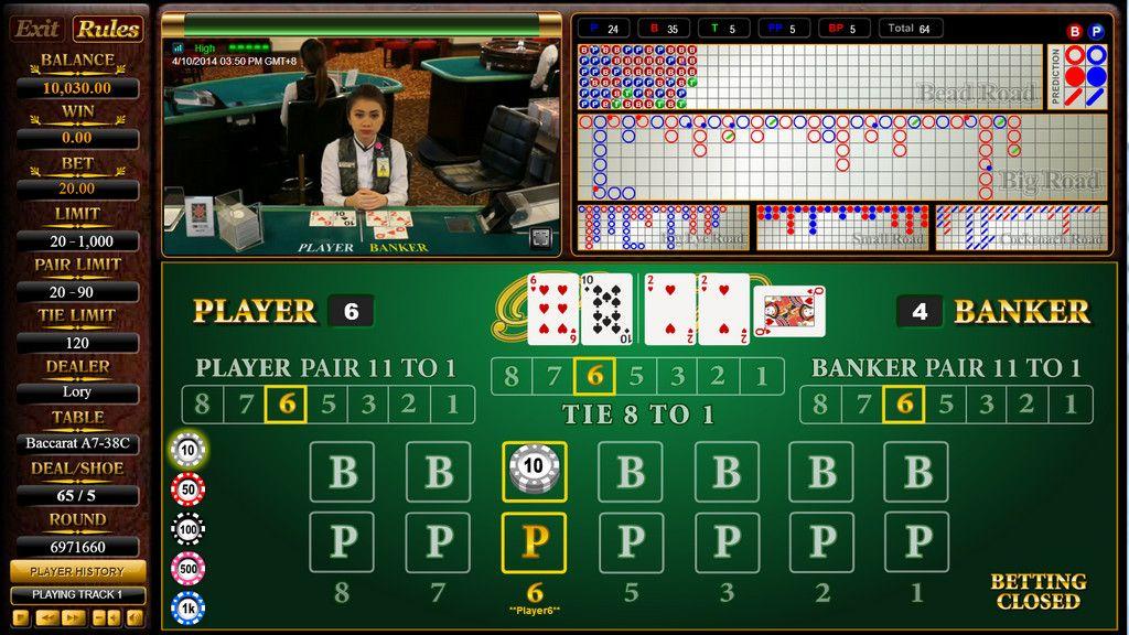 Bermain Baccarat Di Sbobet Casino