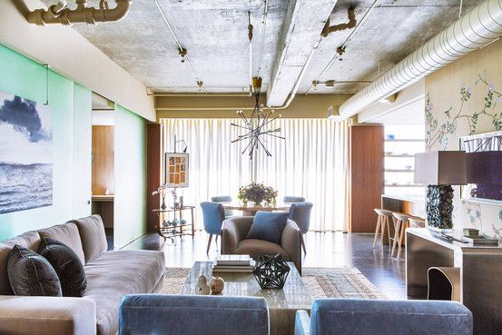 an industrial luxe apartment in l a with images on wall street journal online id=34951