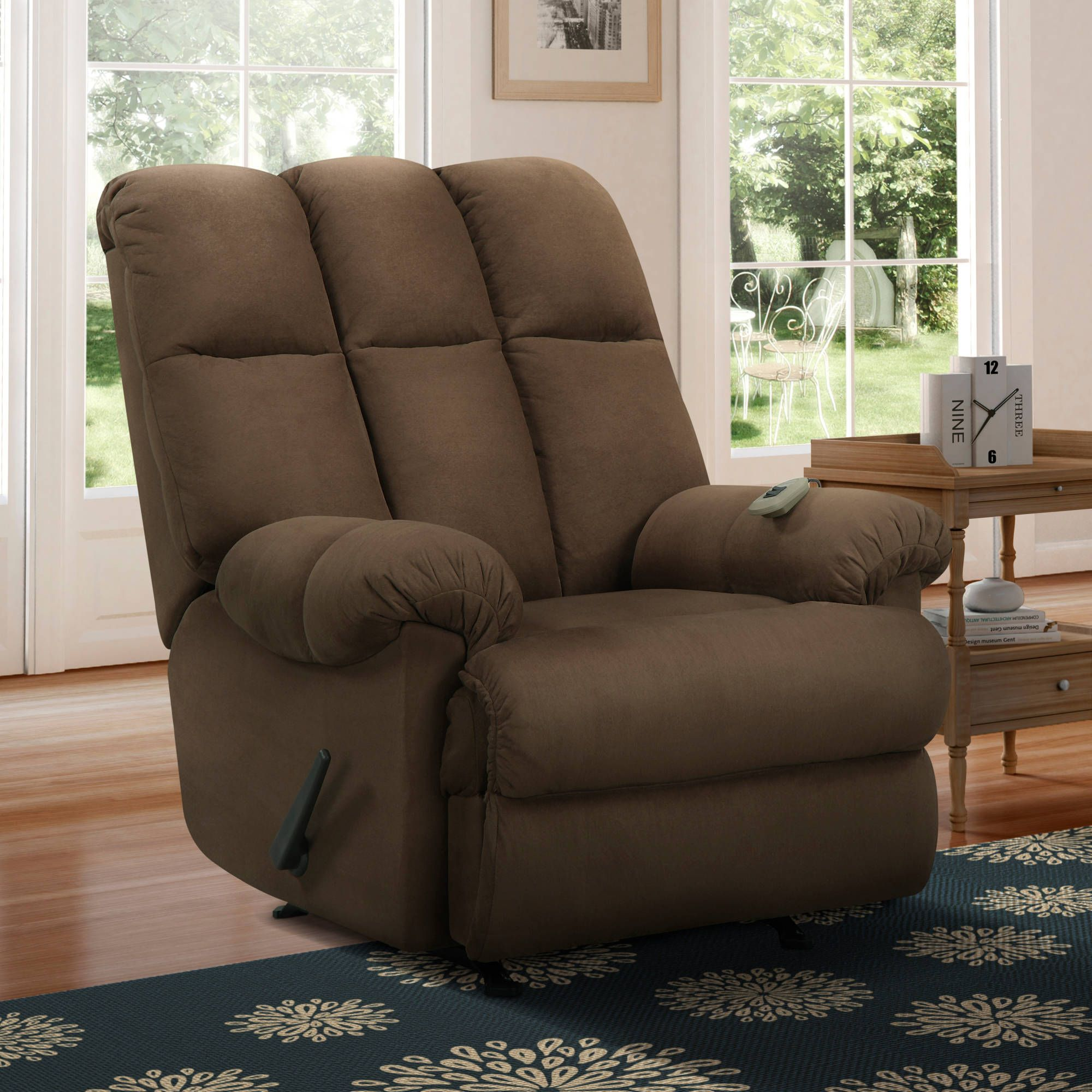 47050bd9bda5b4daf1a8bb42f6cdfbb5 - Better Homes & Gardens Deluxe Rocking Recliner Brown
