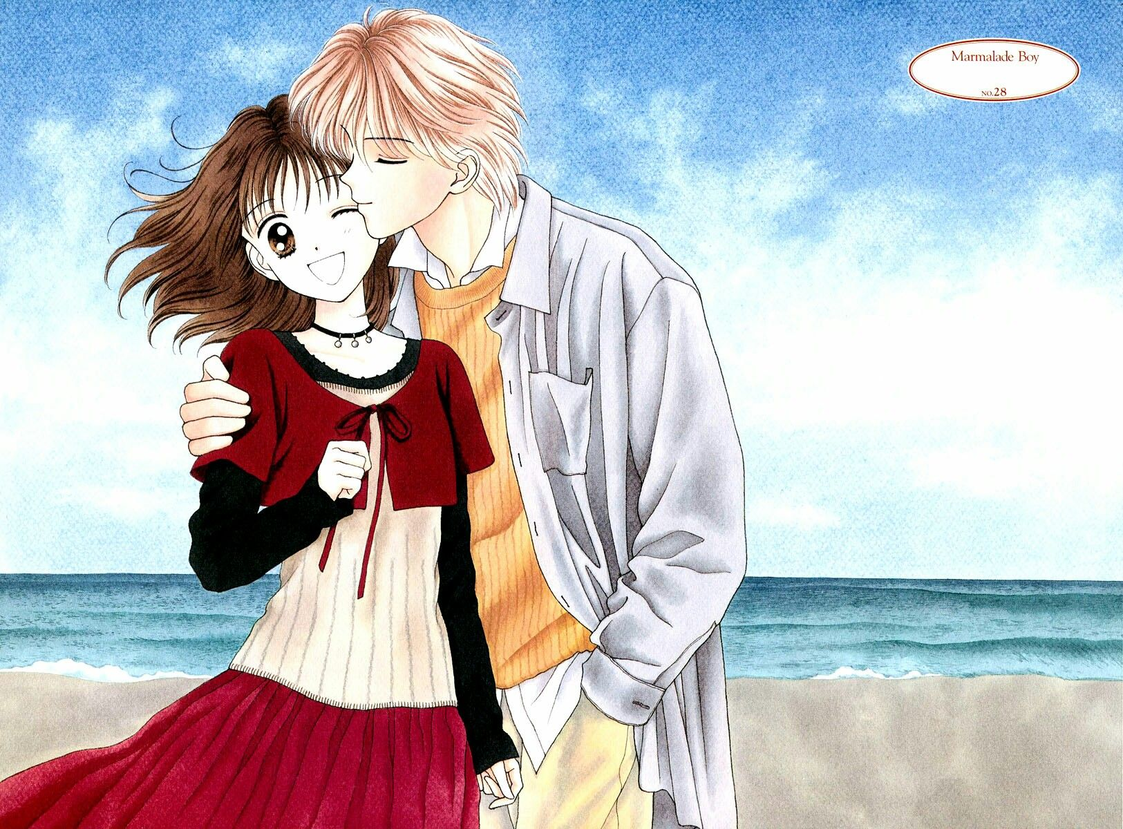 Miki e Yuu Marmalade Boy Arte anime, Dibujos, Kodomo