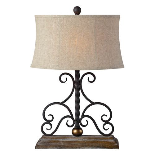 Forty West Houston 26 5 Table Lamp With Oval Shade Lamp Table Lamp Beautiful Lamp