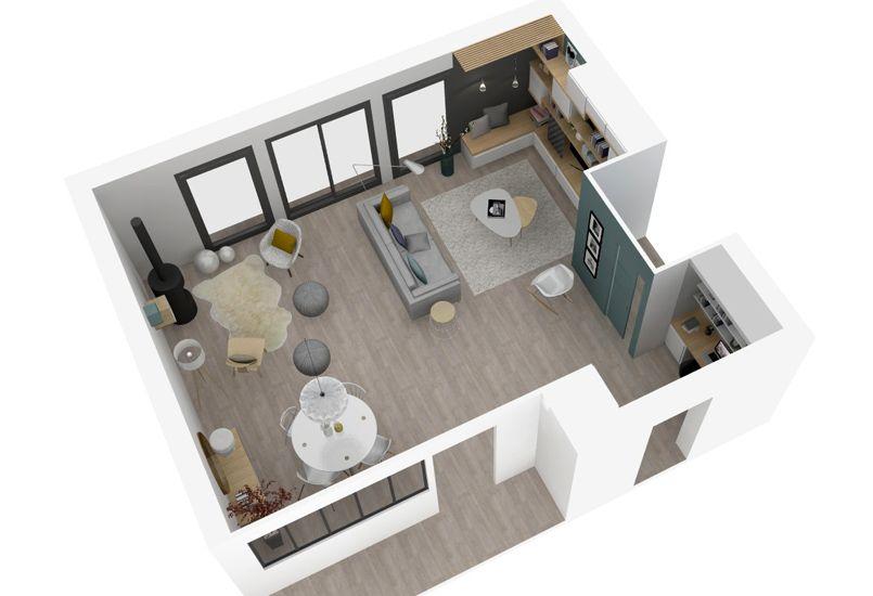 Petit d tour l 39 isle d 39 abeau marion lano architecte d for Plan maison avec cotation