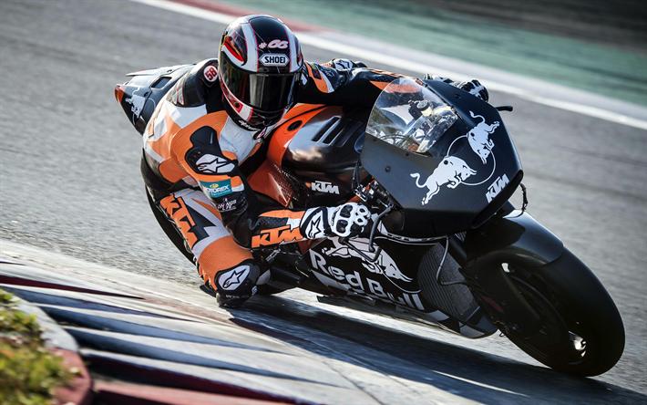 Lataa kuva Alex Hofmann, 4k, ratsastaja, KTM, sportbikes, raceway, MotoGP, KTM RC16