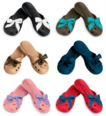 c45d9eaee Crocs-Cute-Bow-Fashionable-Funky and Colourfull monsoon footwear shoes trend