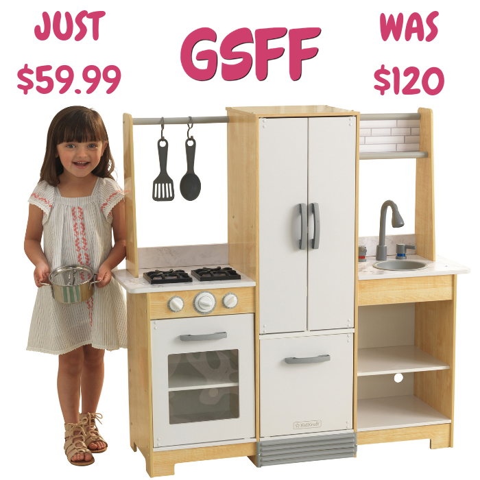 KidKraft Play Kitchen Just 59.99! Down From 120! FREE