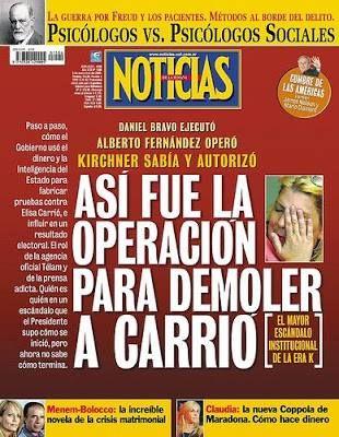 OPERACIÓN CONTRA CARRIÓ