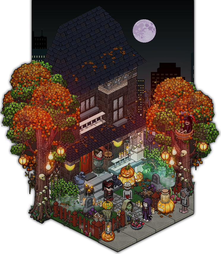 Habbo Halloween.Pin On Environment Modern