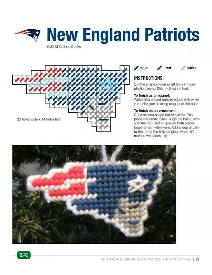 Patriots Christmas Ornaments