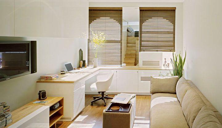Ideas para decorar apartamentos pequeños Espacios pequeños