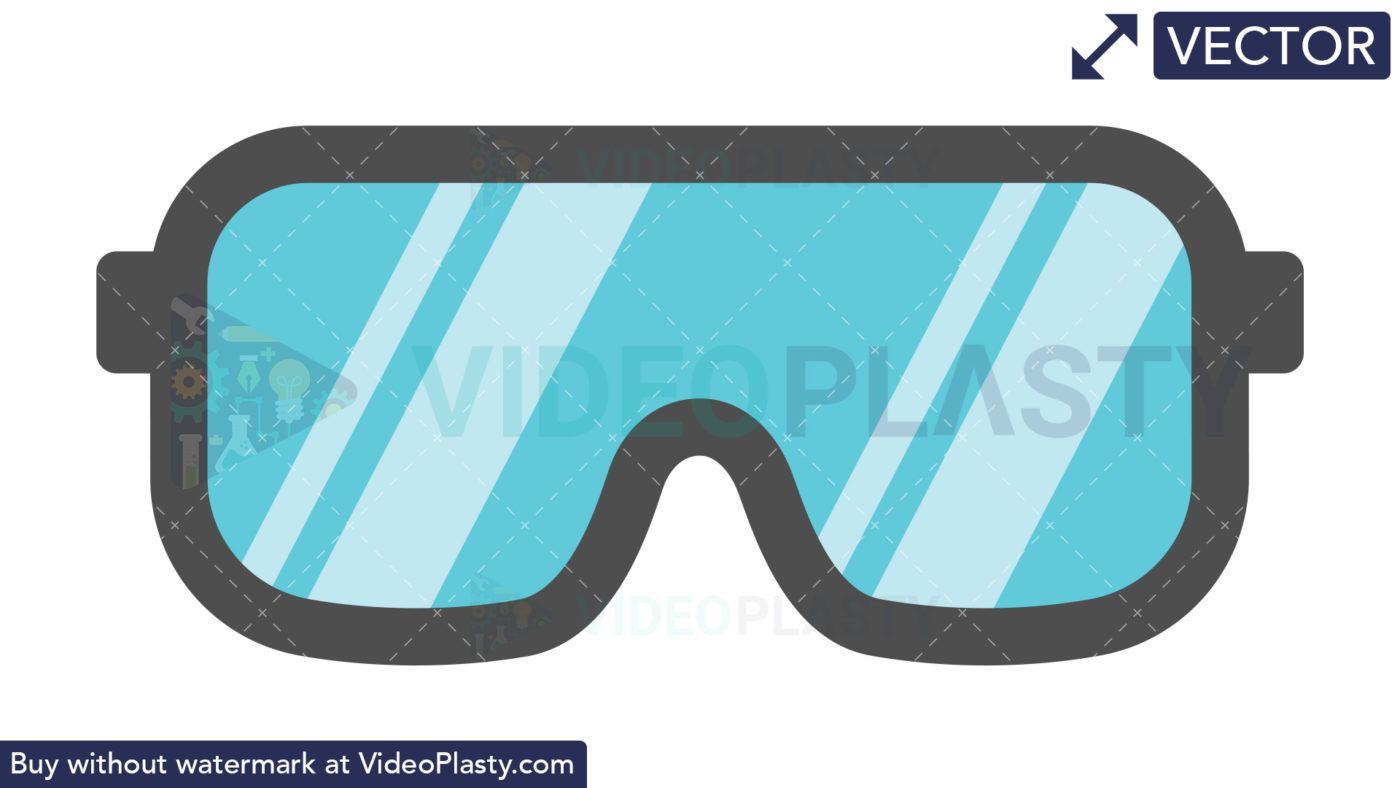 Safety Glasses Icon Vectors Icon Clip Art Glasses