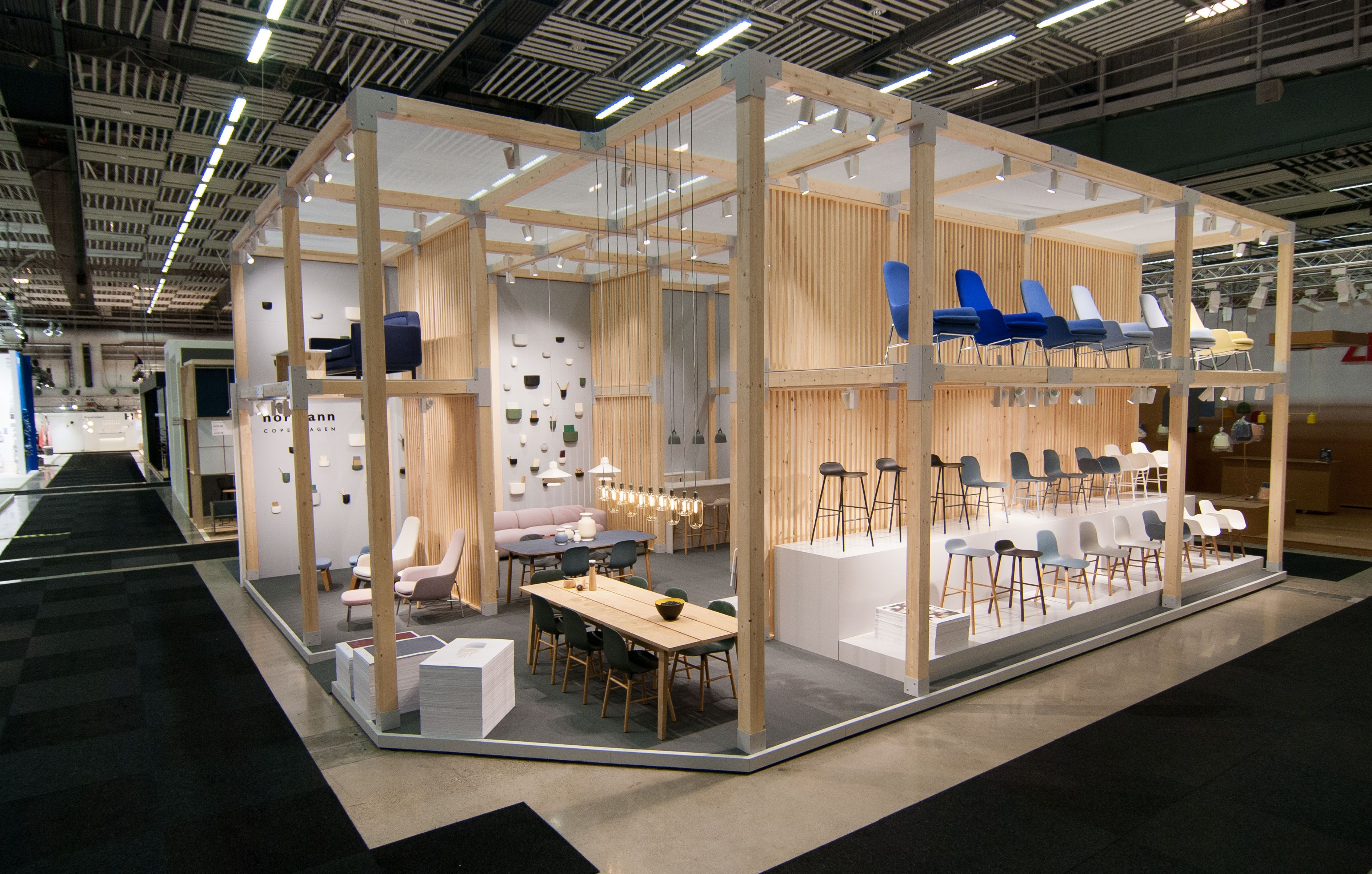 Stockholm furniture fair 2015 sff2015 normann for Furniture exhibition