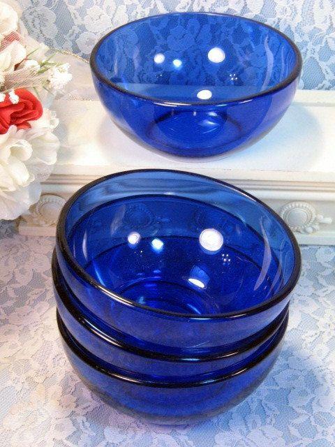 Vintage Cobalt Blue