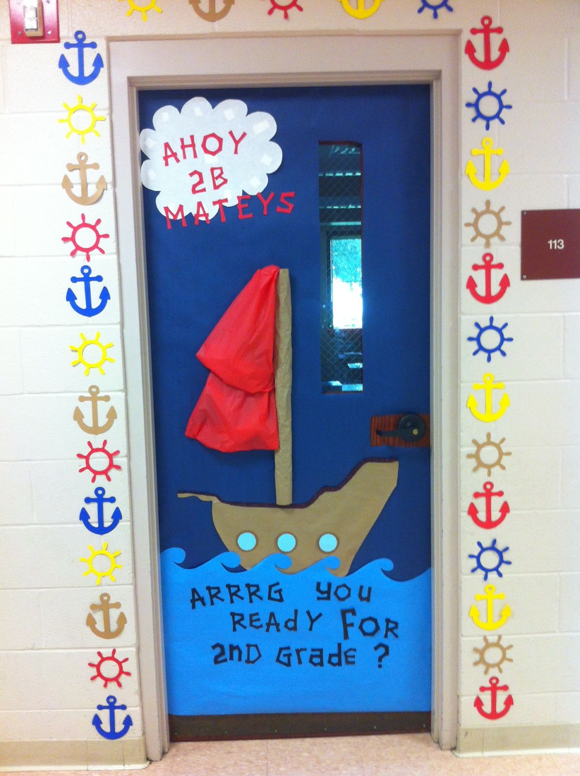 Nautical pirate themed classroom basteln pinterest for Raumgestaltung pinterest