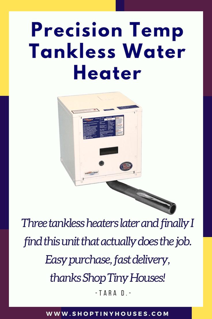 Precision Temp RV 550 NSP Tankless Water Heater Floor