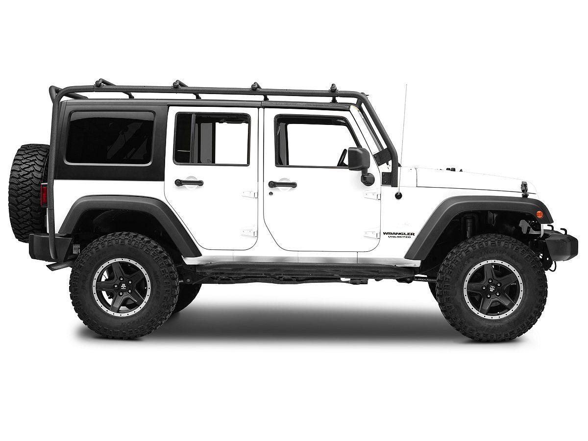 smittybilt jeep wrangler src roof rack