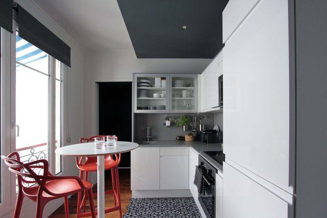 Petites cuisines de 4 m2  plans d\u0027aménagement