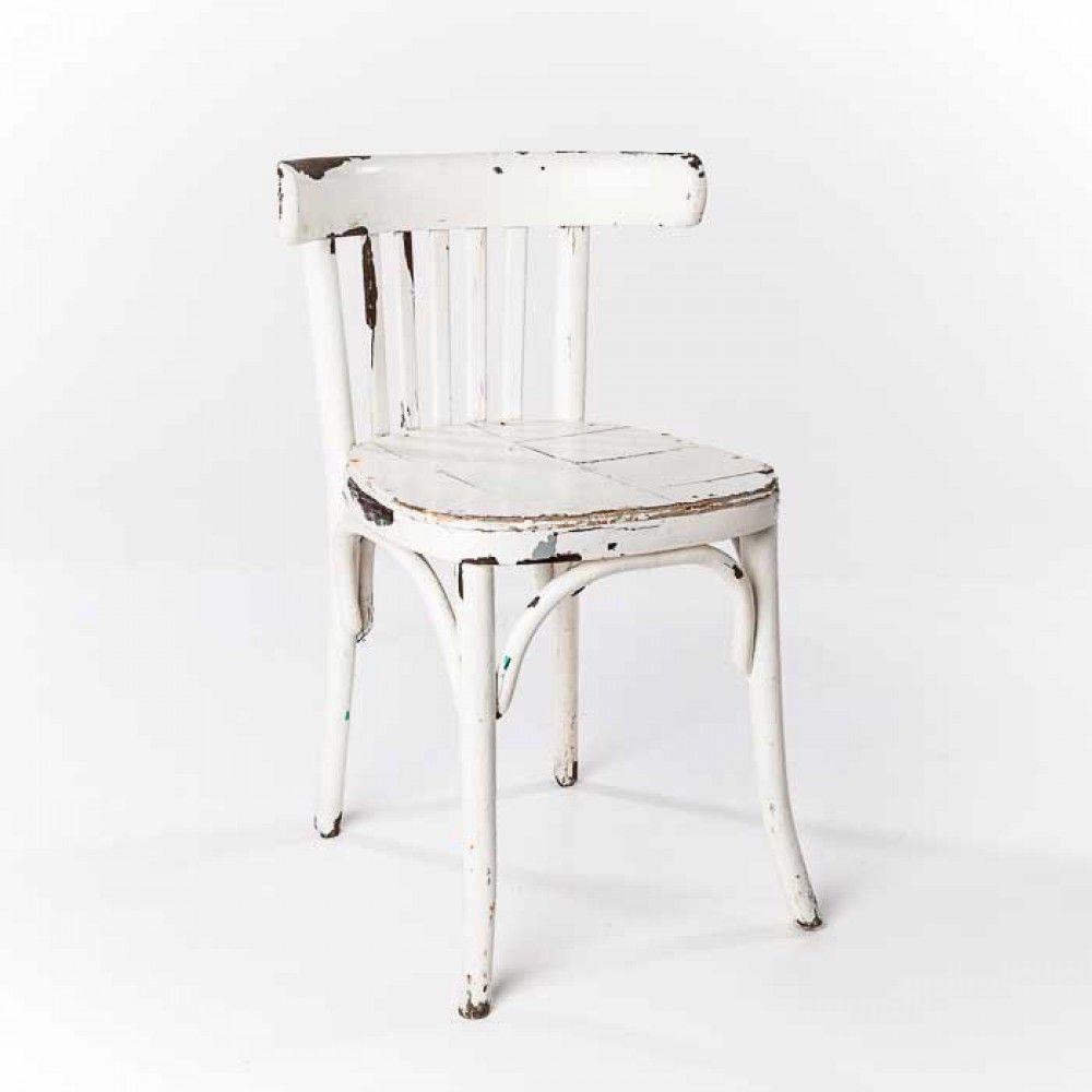 Silla Vintage Blanca Reina Blanca Pinterest Sillas Vintage  # Muebles Faciles Liniers