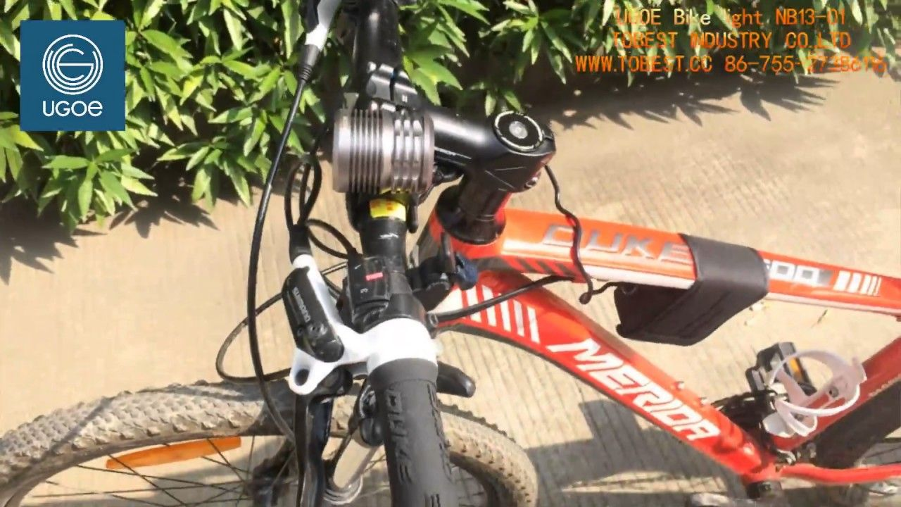 The Most Powerful 3000 Lumens Mtb Bike Light 1 Use 4 Cree