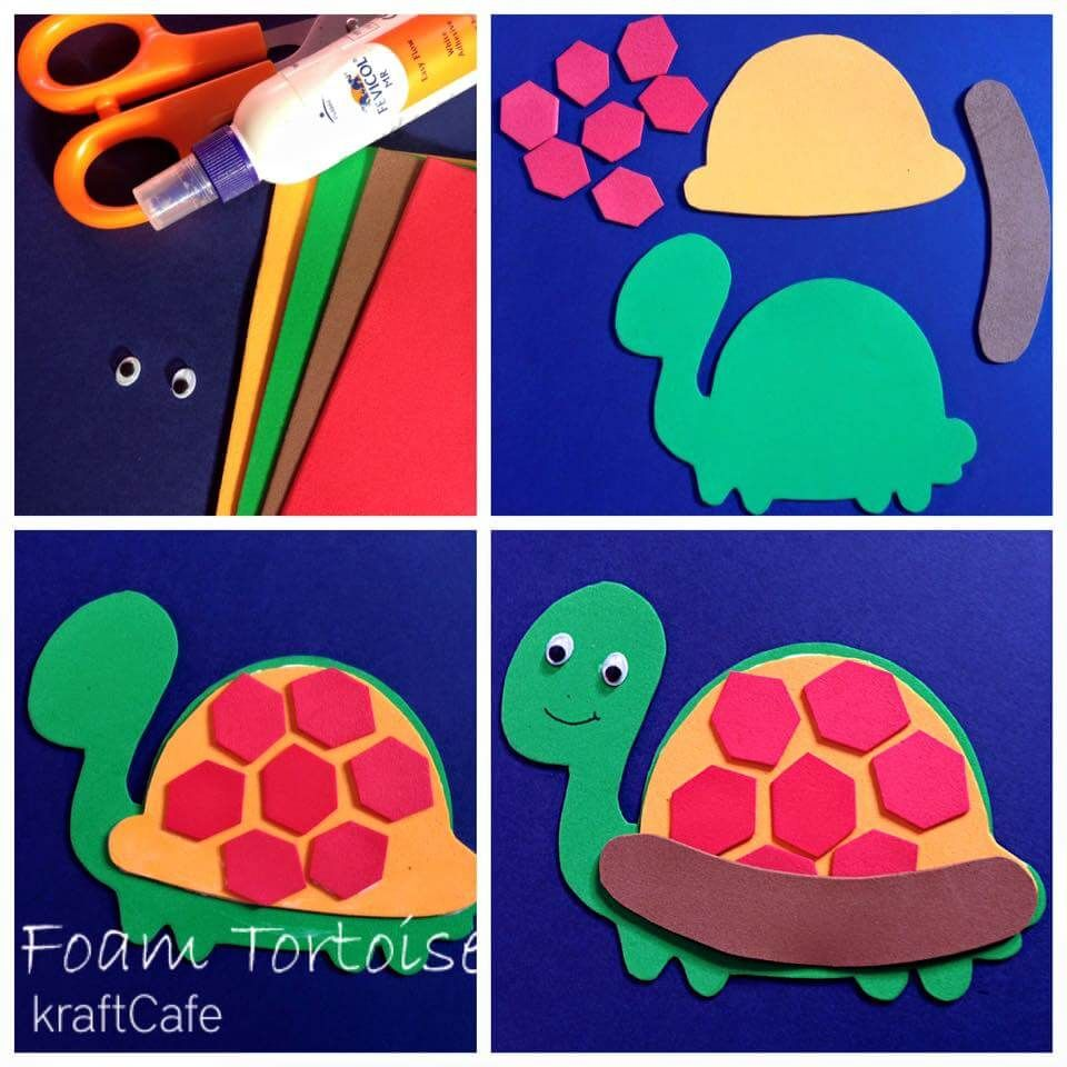 Simple Foam Sheet Craft Ideas Step By Step Handmade Craft