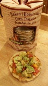 Corn Tostadas - very little bad things in these, for vegans and diabetics too.