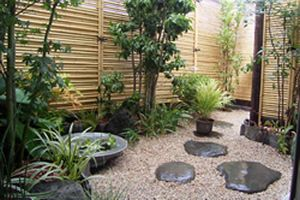 Small space japanese garden put rocks in spaces of some - Japanese garden ideas for small spaces ...