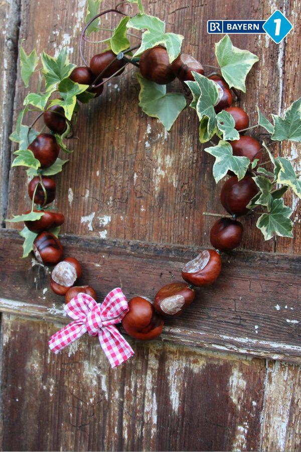 Photo of Make chestnut wreath