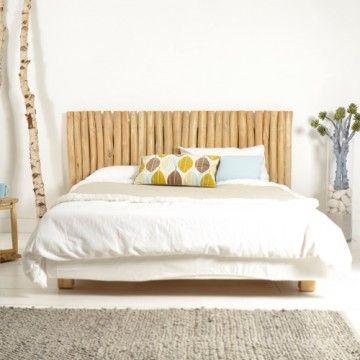 Tête de lit en bois flotté 180 River | Tête de lit en bois flotté ...