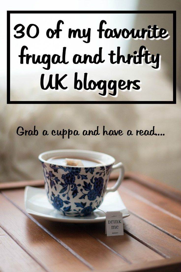A few of my favourite UK frugal and thrifty bloggers.... | The Diary of a Frugal Family