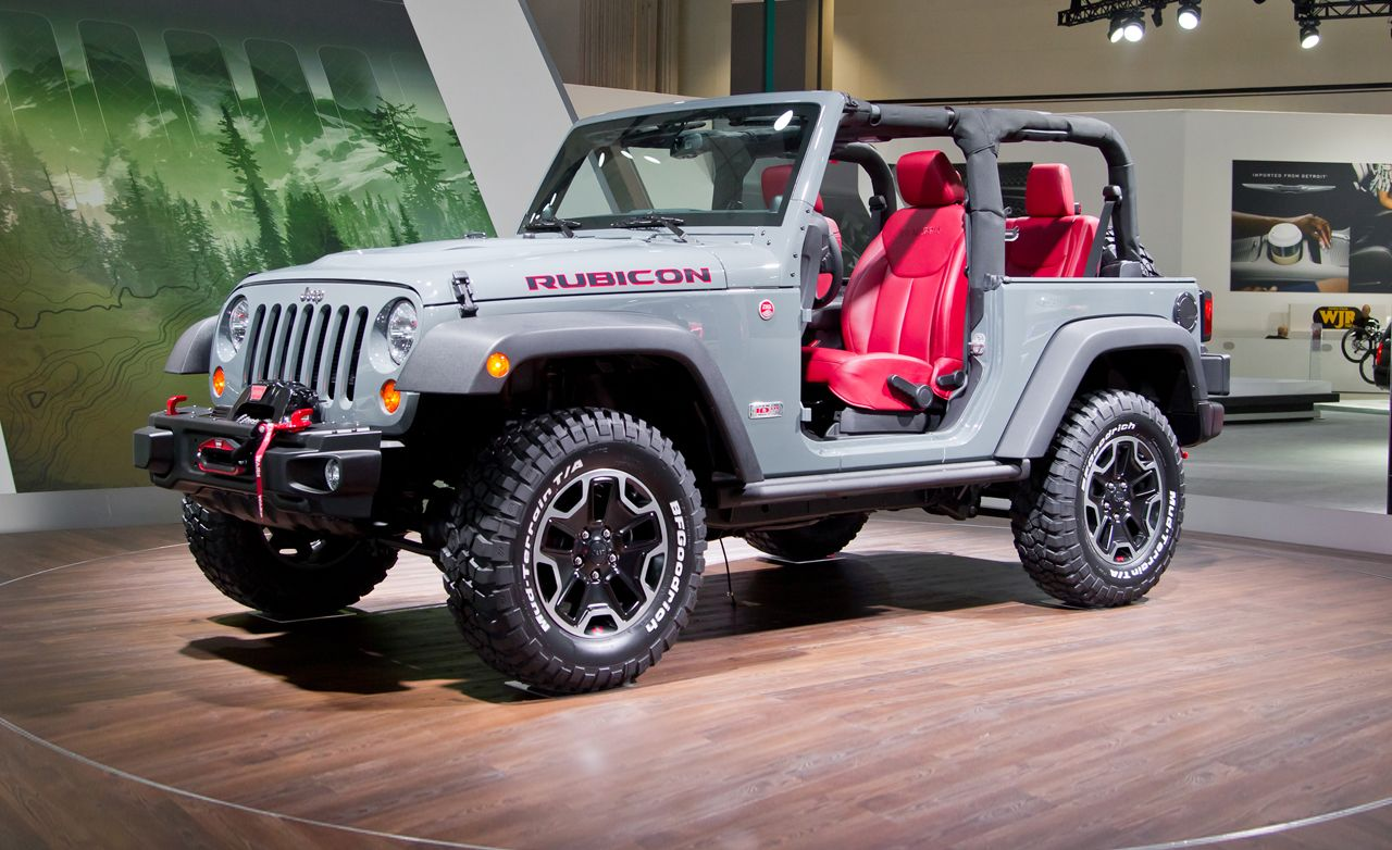 2013 Jeep Wrangler Rubicon 10th Anniversary Edition Ready When