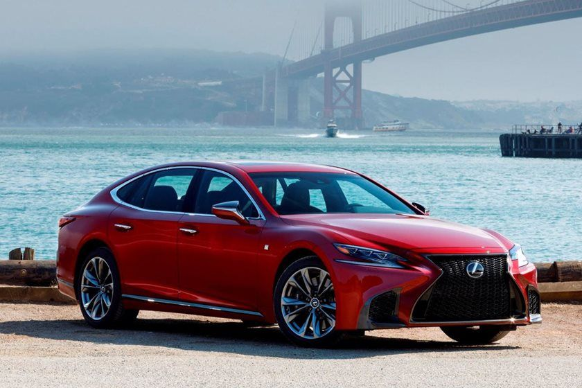 The Luxurious Lexus LS Is Now Cheaper Than Ever Before In