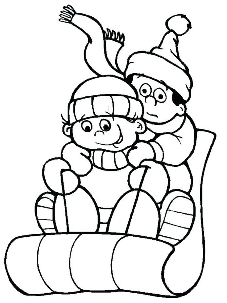 Cute Winter Coloring Pages Winter Is Snow It Is An Inseparable Thing Winter Is Always Awaited By Coloring Pages Winter Holiday Coloring Book Coloring Pages