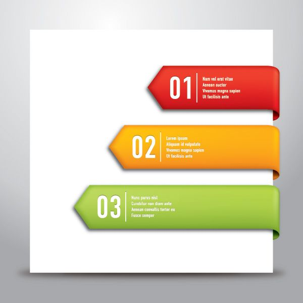 """""""#Progress"""", #colorful vector banners by #DryIcons.com."""