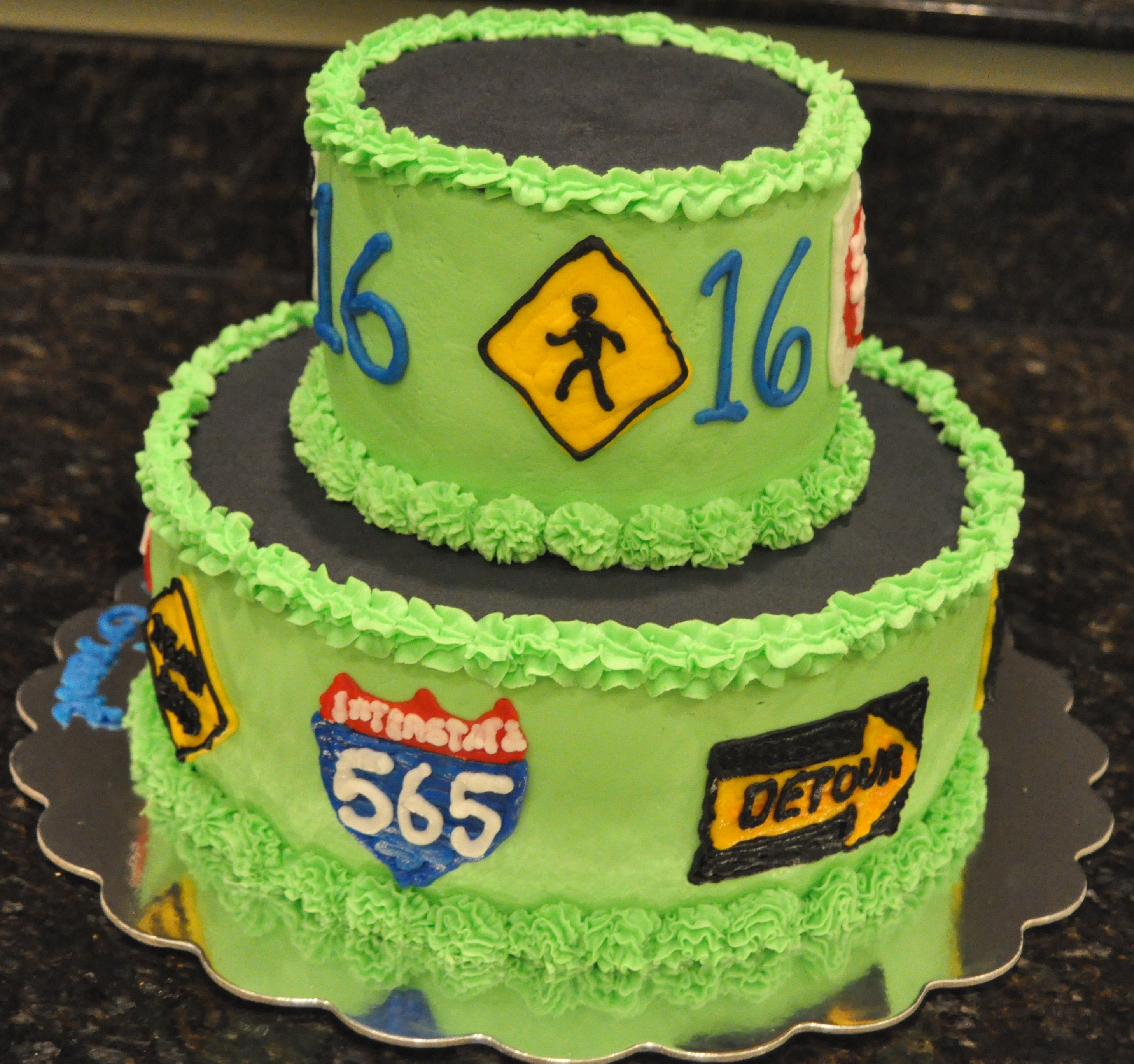 Boys 16 Birthday Cake Ideas
