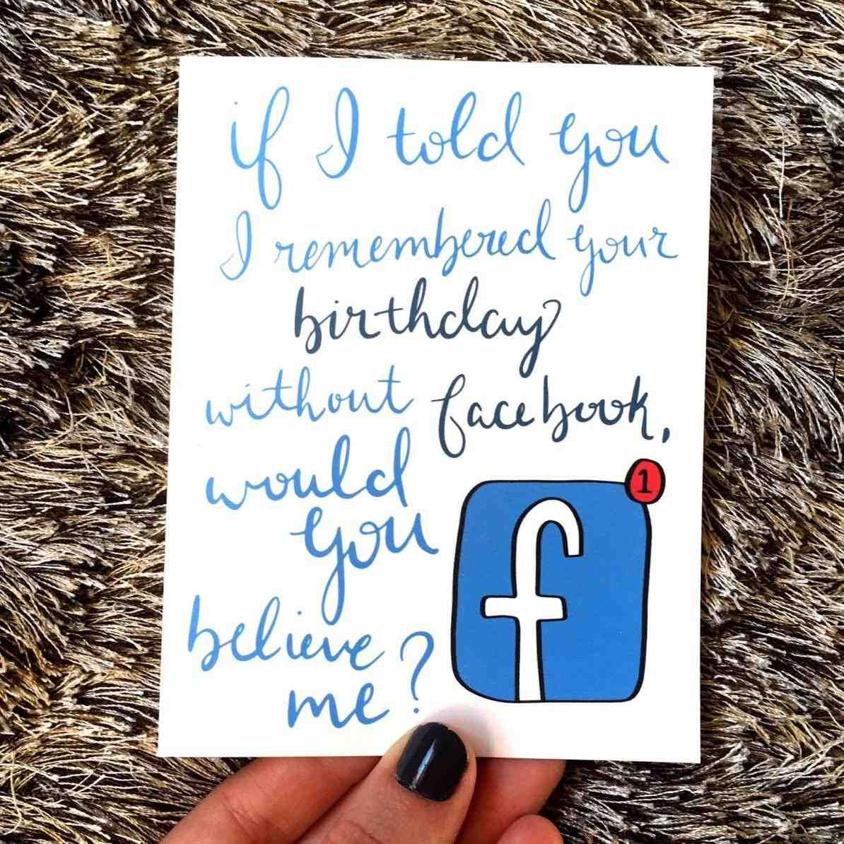 Facebook vs letterpressed birthday card amazing free birthday cards facebook vs letterpressed birthday card amazing free birthday cards for facebook friends portrait stylish free birthday cards for facebook friends black kristyandbryce Image collections