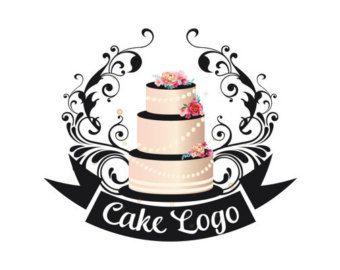 Premade Logo De Pastel Diseno De Logotipos Personalizados Logo De