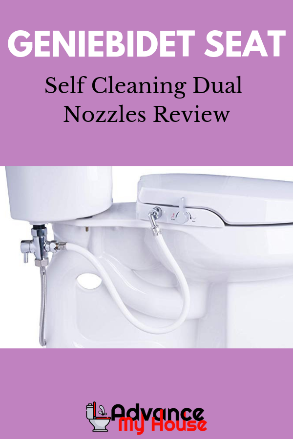 Geniebidet Seat Self Cleaning Dual Nozzles Review Cleaning